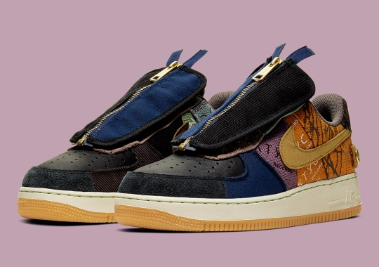"The Travis Scott x Nike Air Force 1 Low ""Cactus Jack"" Releases Tomorrow"