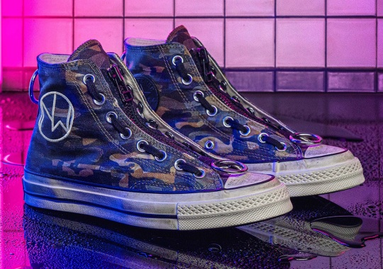 UNDERCOVER Brings Back Their Last Converse Chuck 70 With Camo Prints And A Low-Top Alternative