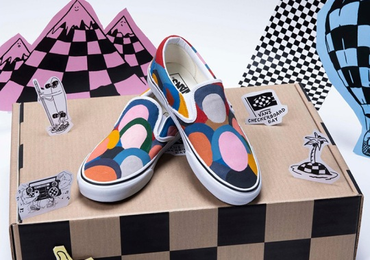 Vans Lets Creatives And Athletes Rethink The Slip-On For Checkerboard Day 2019