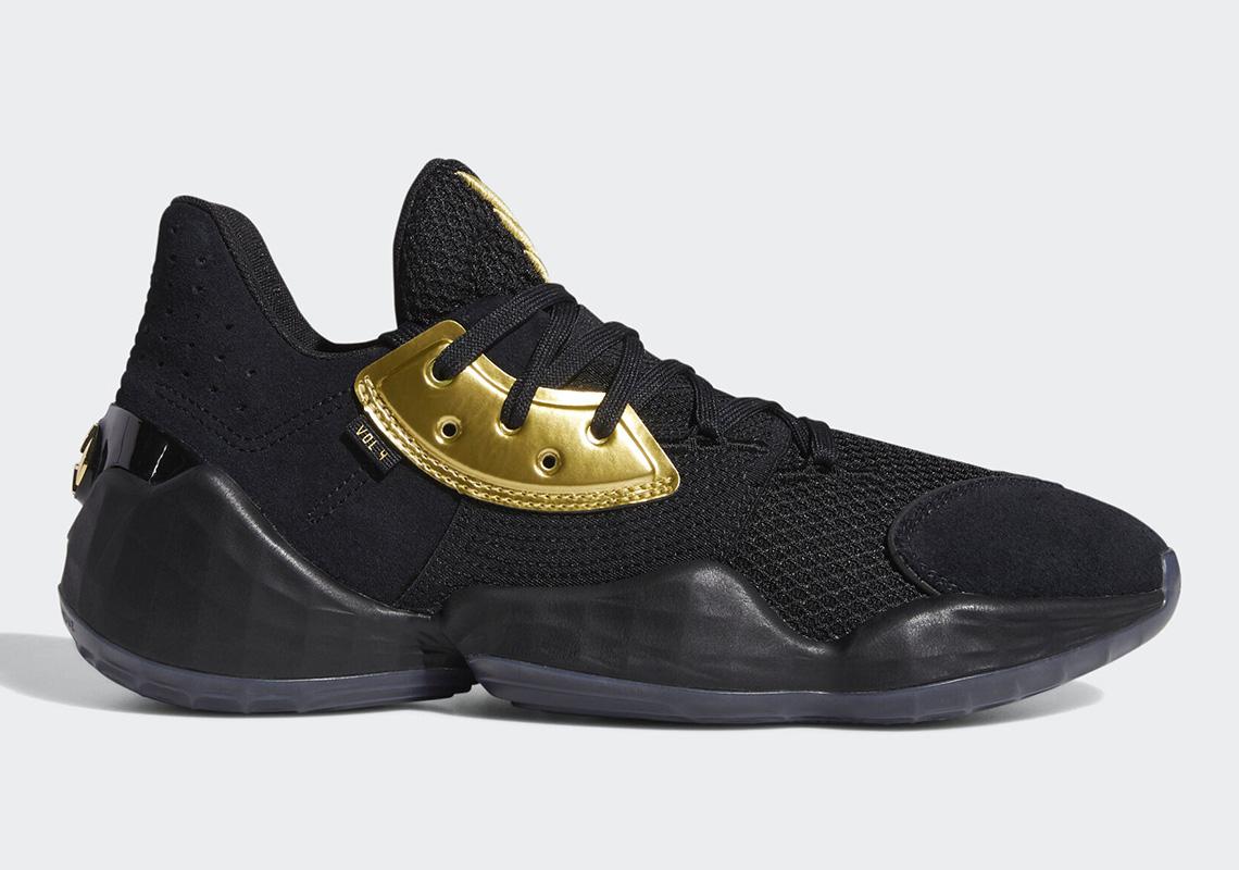 Harden James Gold Adidas Harden Vol. 1 BlackGoldBlack