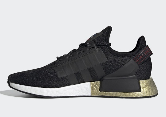 adidas Outfits The NMD R1 V2 With Metallic Gold Boost