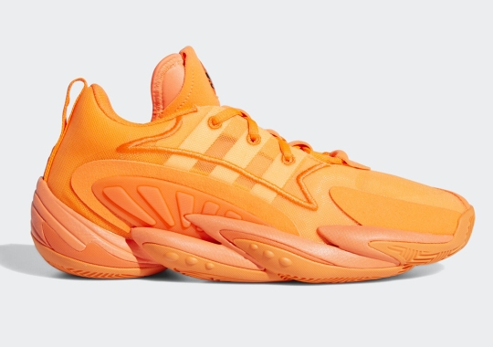 The adidas Crazy BYW X 2.0 Opts For Full Neon Orange