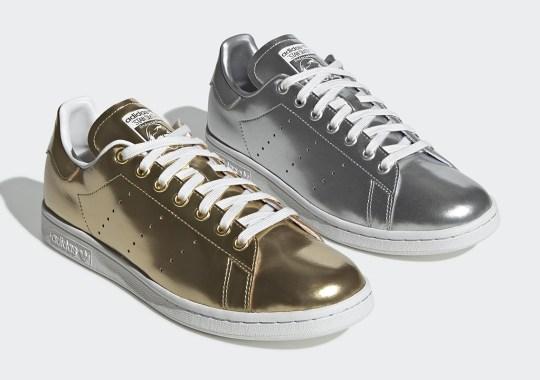 adidas Originals Bring Matte Metals To The Stan Smith