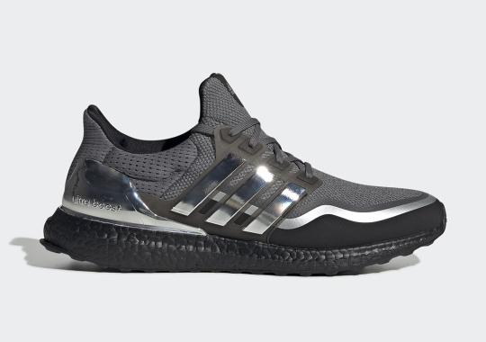 adidas Upgrades the Ultra Boost With Metallic Silver Trim