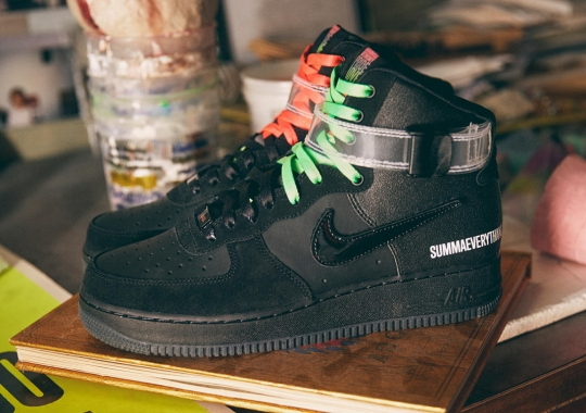 Nike's ALL FOR 1 Series Teams With LA's Lauren Halsey For Special Air Force 1 High