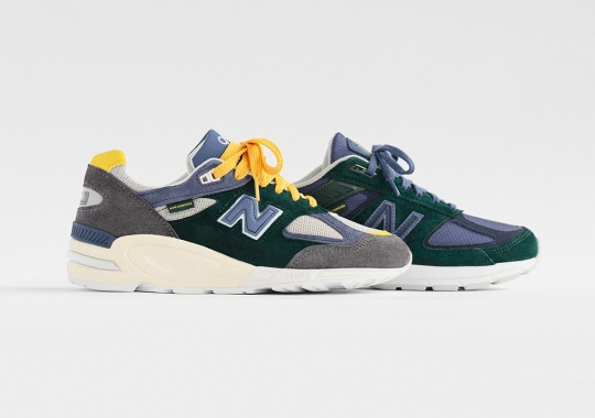 Aimé Leon Dore's New Balance 990v5 And 990v2 Are Releasing This Week