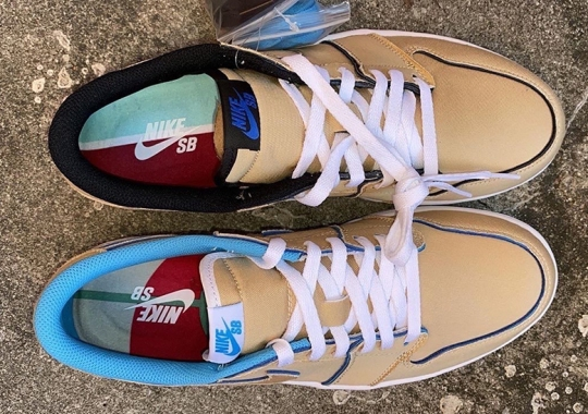 Detailed Look At The Lance Mountain Inspired Air Jordan 1 Low SB