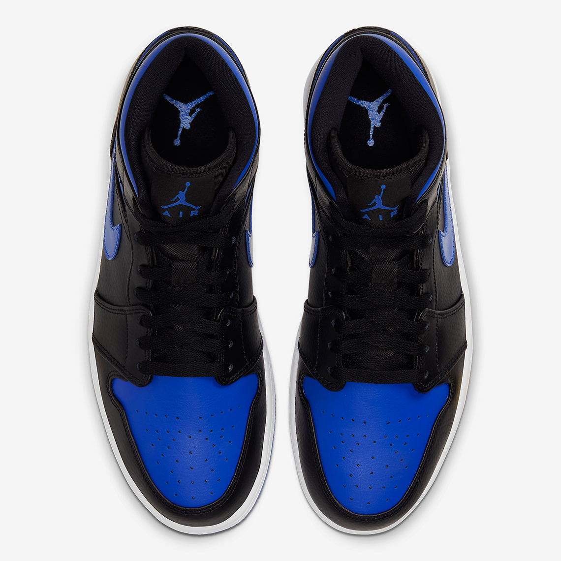 "Air Jordan 1 Mid Receives Infamous ""Royal"" Colorway: Official Photos"