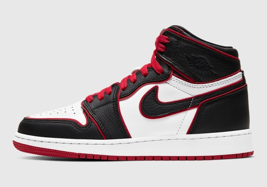 "The Air Jordan 1 Retro High OG ""Bloodline"" Is Releasing In Kids Sizes"