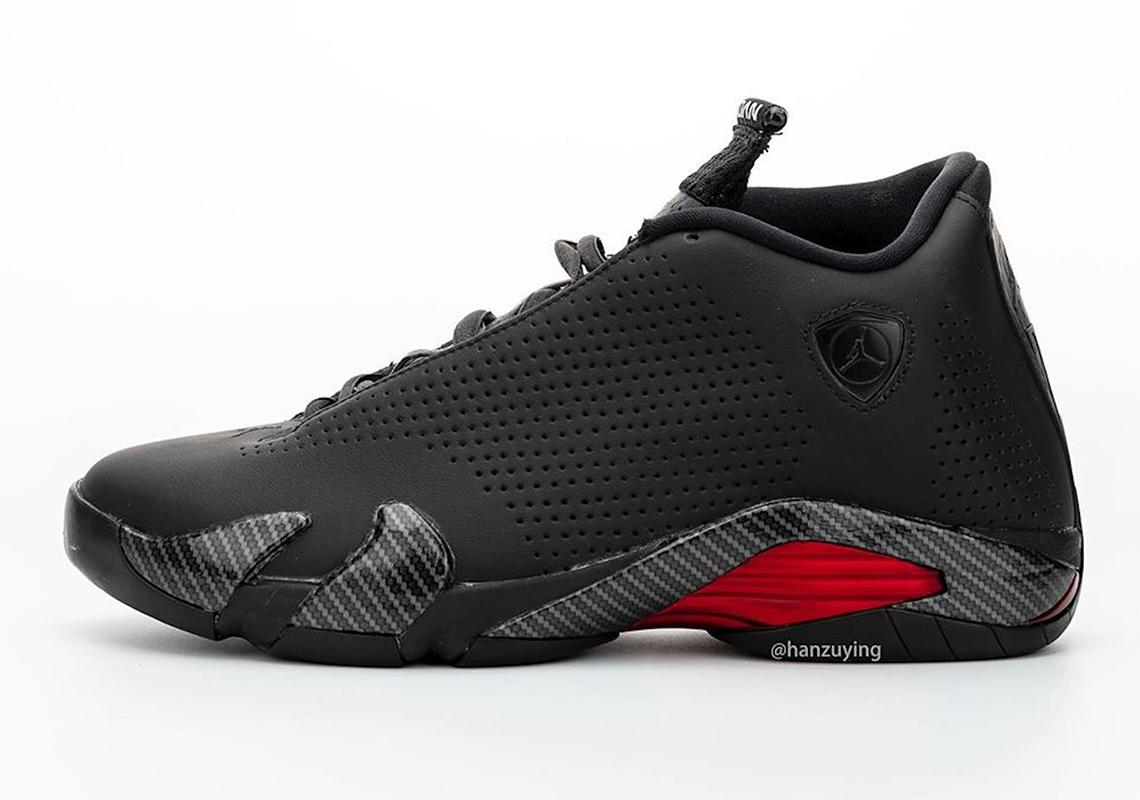 Air Jordan 14 Se Black Ferrari Bq3685 001 Sneakernews Com