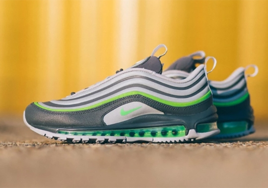 Nike Adds Electric Green Accents To The Air Max 97 Utility