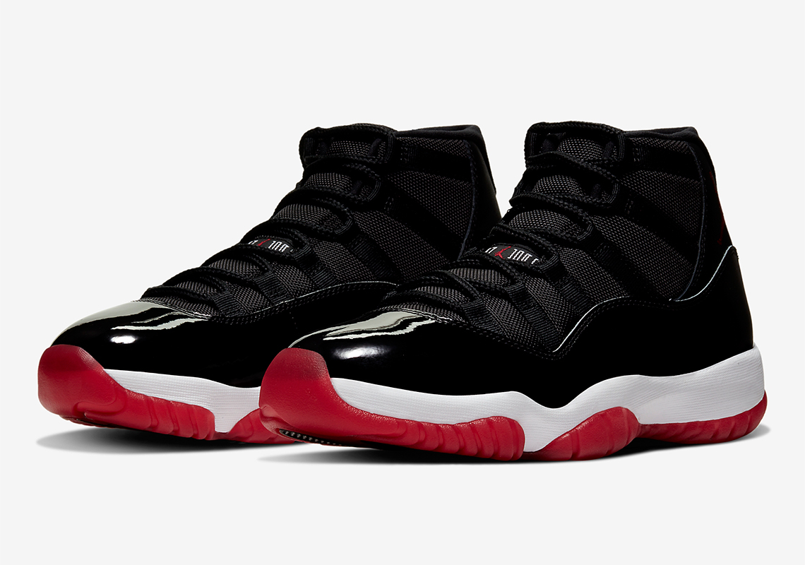 "Air Jordan 11 ""Bred"" - 2019 Release Date + Photos 