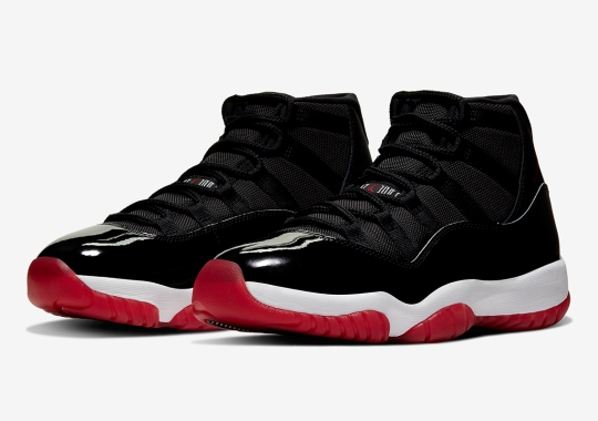 "Official Images Of The Air Jordan 11 ""Bred"""