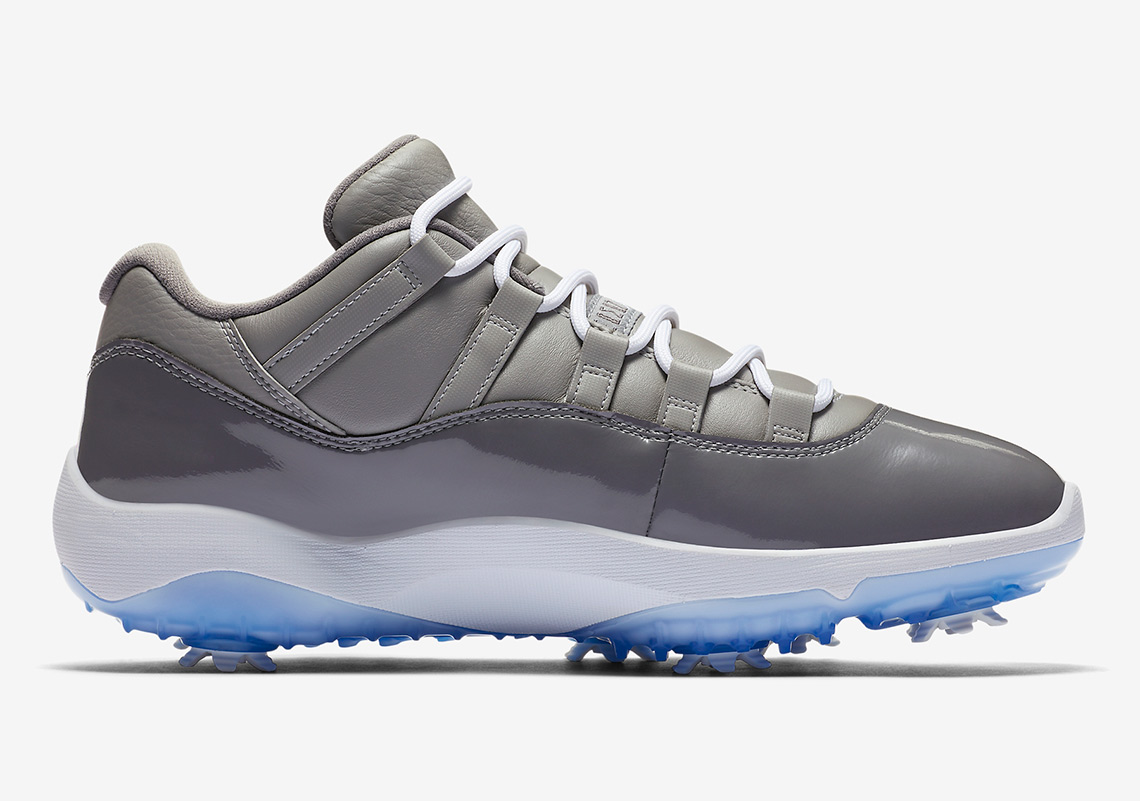 Air Jordan 11 Golf Cool Grey AQ0963-002   SneakerNews.com