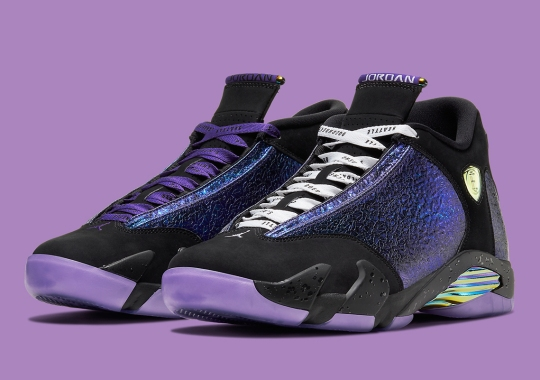 "Official Images Of The Air Jordan 14 ""Doernbecher"""