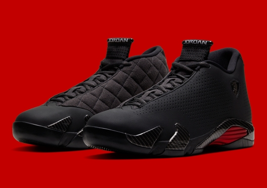 "The Air Jordan 14 SE ""Black Ferrari"" Is Releasing On Cyber Monday"
