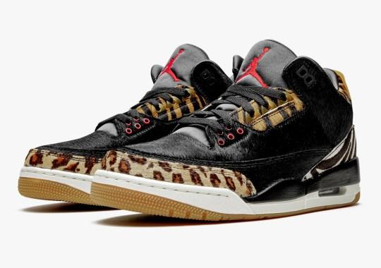 "The Air Jordan 3 Retro SP ""Animal Pack"" Releases On December 19th"