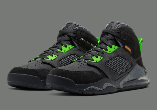 The Jordan Mars 270 Emerges In Anthracite And Electric Green