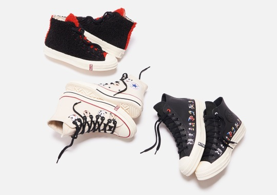KITH Celebrates 90th Anniversary Of Mickey With A Converse Chuck 70 Collection
