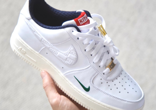 First Look At The KITH x Nike Air Force 1 Low