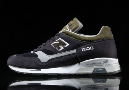 The New Balance 1500 Channels Winter Colors With Dark Navy And Olive