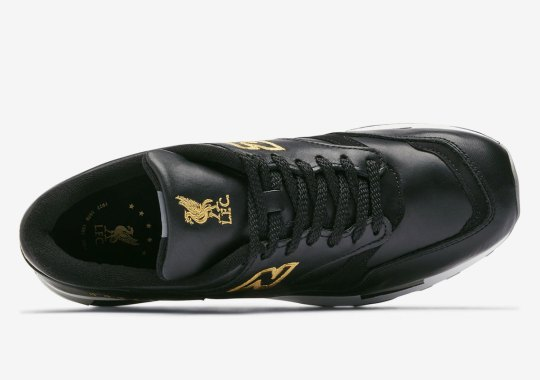 New Balance Blesses Liverpool FC With A Black And Gold Made In UK 1500