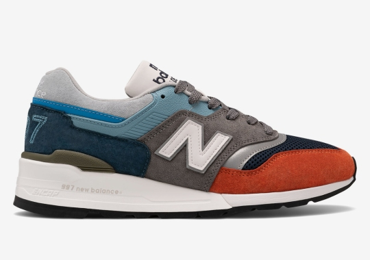 "New Balance Adds Oversized ""997"" To Its Latest Made In USA Offering"
