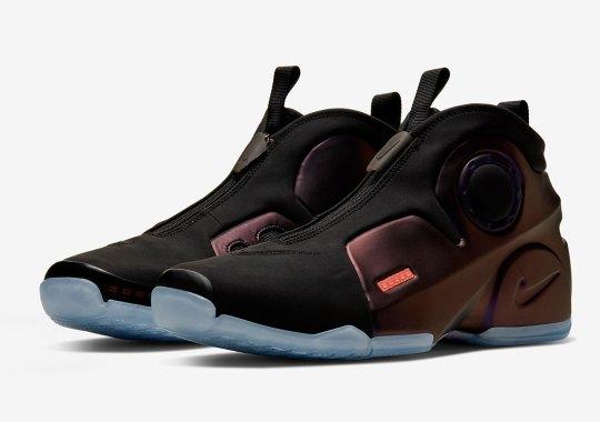 """The Nike Air Flightposite 2 Releases In """"Dark Purple Dust"""""""
