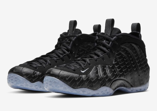 Nike Adds All-Over Etched Swooshes Onto The Air Foamposite One