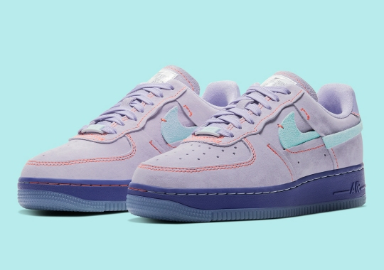 "The Nike Air Force 1 Low LX ""Purple Agate"" Is Hitting Stores Now"