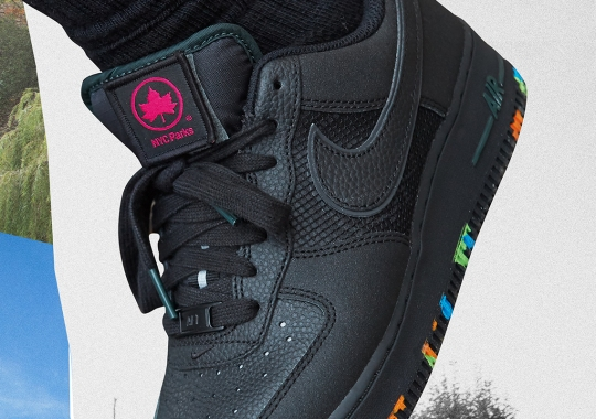 """Nike Announces Official Partnership With The NYC Parks With Air Force 1 """"ALL FOR 1"""" Release"""