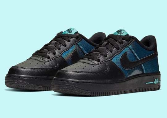 Nike Adds Oily Snakeskin Finishes Onto The Air Force 1 Low