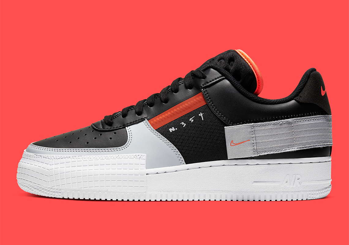types of nike air force 1
