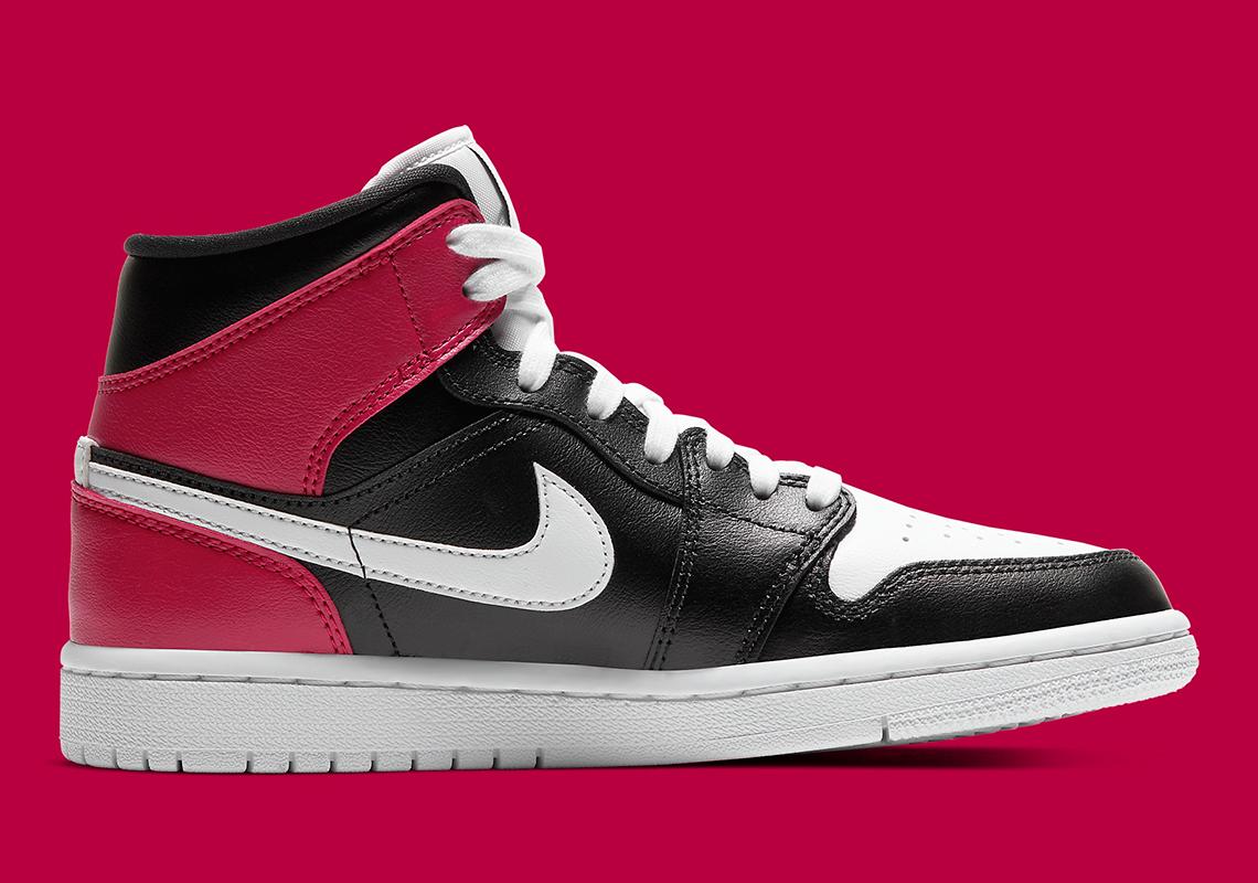 Air Jordan 1 Mid WMNS Noble Red BQ6472 016 |