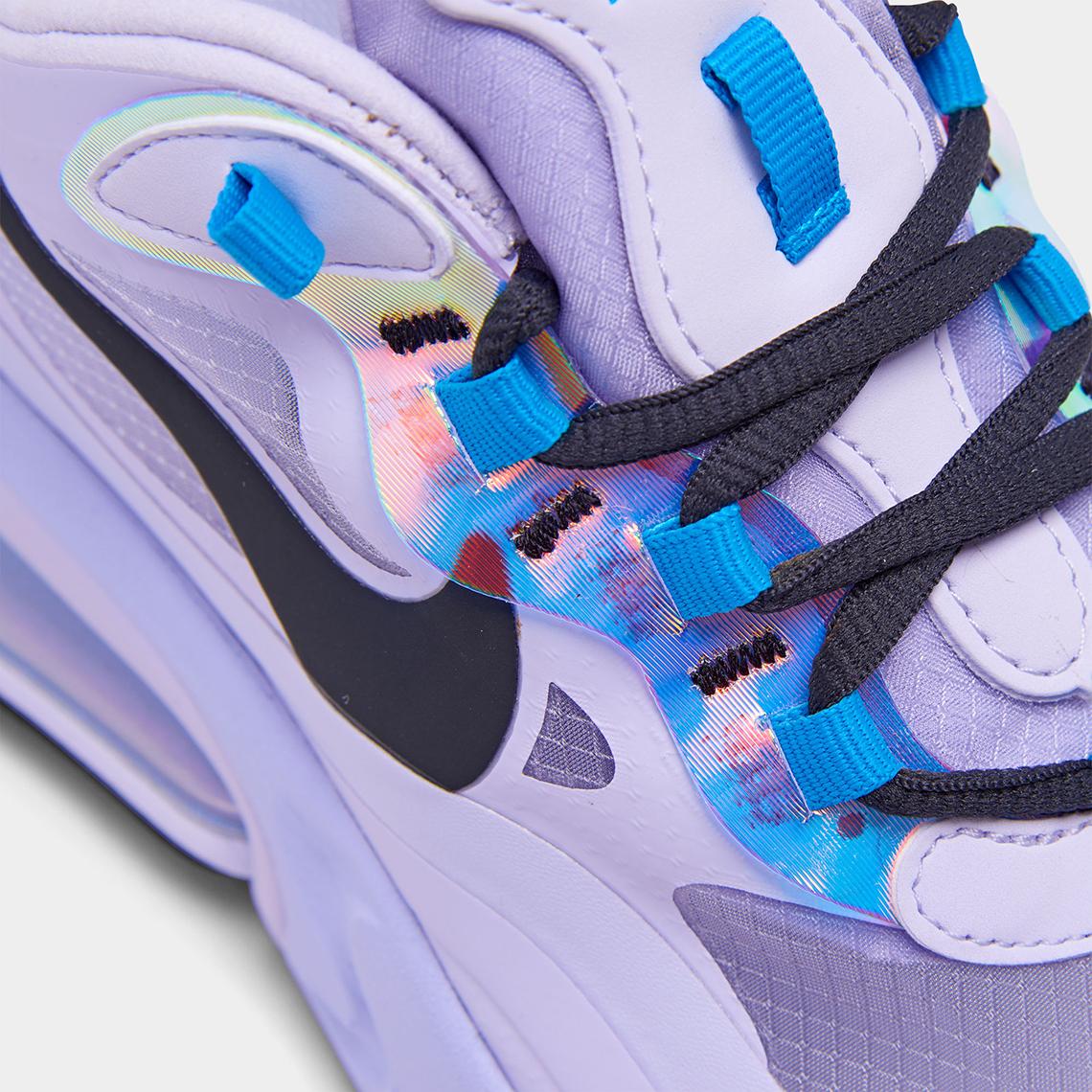Nike Air Max 270 React Amethyst Blue CT1613 500