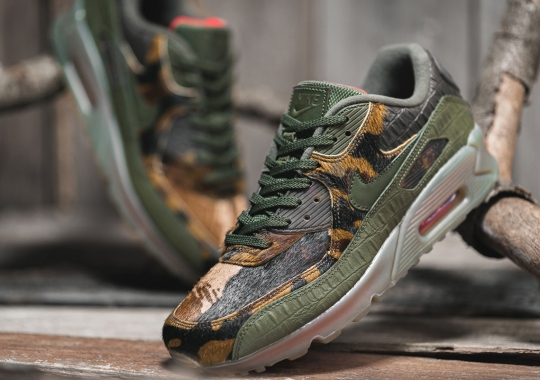 "The Wild Nike Air Max 90 ""Croc Camo"" Releases On November 21st"