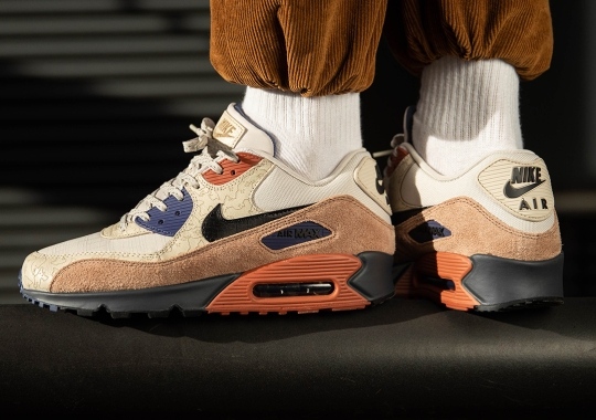 "Nike Air Max 90 NRG ""Camowabb"" Features Laser-Etched Uppers"