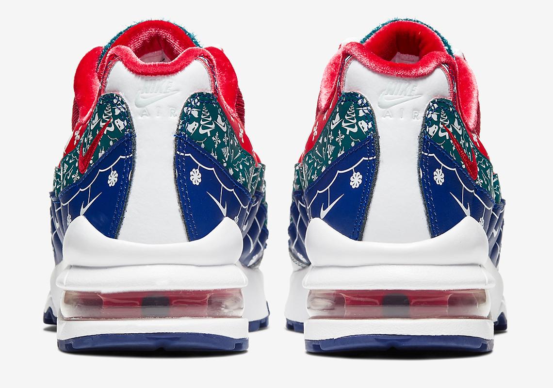 Nike Air Max 95 Receives Festive Christmas Spirit Makeover: Details
