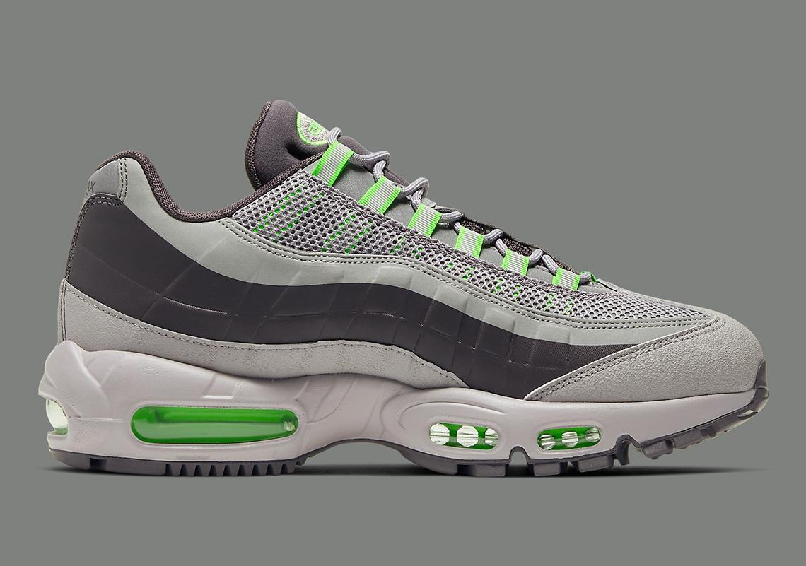 Nike Air Max 95 Utility Grey Green BQ5616 002 |