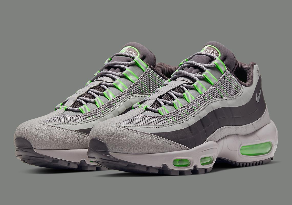 Nike Air Max 95 Utility Grey Green BQ5616-002 | SneakerNews.com
