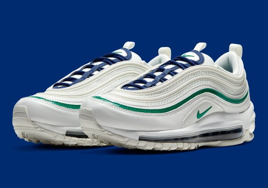 Classic Seattle Seahawks Colors Dress The Nike Air Max 97
