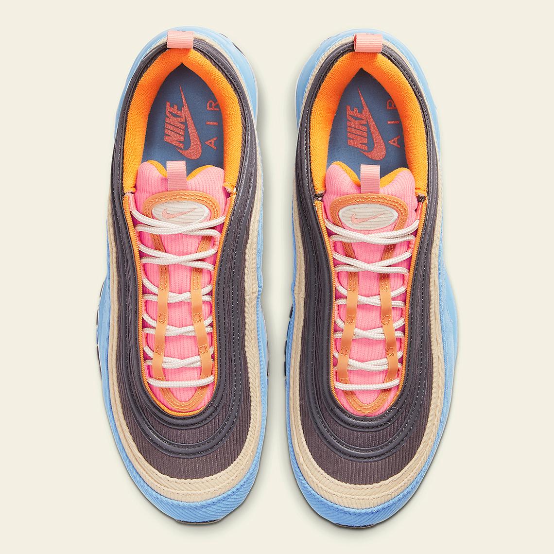 Nike Air Max 97 Corduroy Light Blue CQ7512 462 |