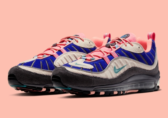 The Nike Air Max 98 Goes Vintage With Corduroy Finishes