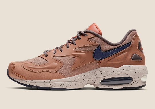 "The Upgraded Nike Air Max 2 LX Arrives In ""Desert Dust"""