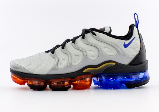 The Nike Vapormax Plus Channels Optimus Prime In Newly Launched Colorway