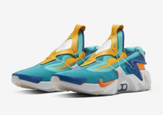 Nike Set To Release The Adapt Huarache In Vibrant Teal Colorway