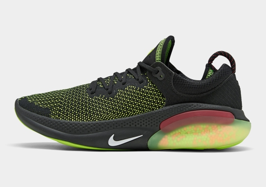 The Nike Joyride Run Flyknit Gets An Electric Green Upgrade
