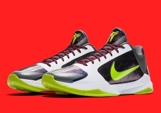 "Official Images Of The Nike Kobe 5 Protro ""Chaos"""