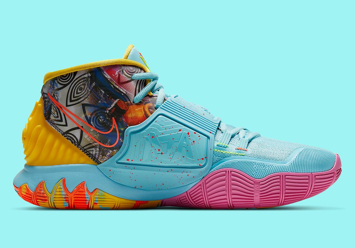 Nike Kyrie 6 Pre-Heat Miami CN9839-404 | SneakerNews com