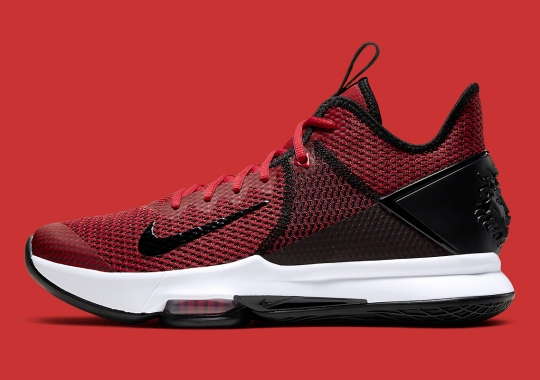 "The Nike LeBron Witness 4 ""Bred"" Is Available"